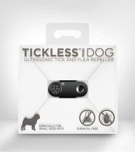 Tickless MINI Dog Black tölthető ultrahangos kullancs és bolhariasztó kutyák számára
