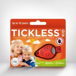 Tickless KID Orange hordozható kullancsriasztó készülék gyerekek számára