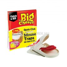 The Big Cheese Quick click egércsapda csalétekkel 2db/cs.