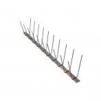 Anti-Bird 2 soros rozsdamentes acél galambriasztó tüske 50cm