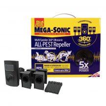 The Big Cheese Mega-Sonic multi-speaker ultrahangos kisállat és rágcsálóriasztó készülék