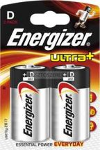 Energizer Ultra Plus góliát (D) elem 2db/cs.