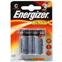 Energizer Ultra Plus (C) LR14 elem 2db/cs.