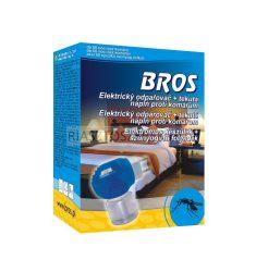 Bros elektromos szúnyogriasztó készülék + 40ml szúnyogirtó folyadék