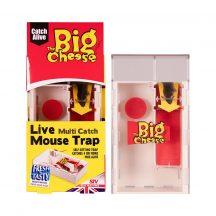 The Big Cheese Multi-Catch élvefogó egércsapda csalétekkel