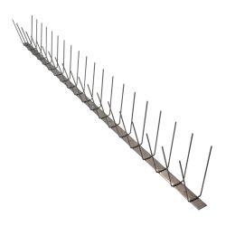 Anti-Bird 2 soros rozsdamentes acél galambriasztó tüske 1m