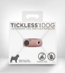 Tickless MINI Dog Rosegold tölthető ultrahangos kullancs és bolhariasztó kutyák számára