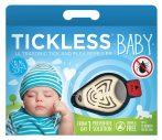 Tickless BABY Beige hordozható kullancsriasztó készülék babák számára