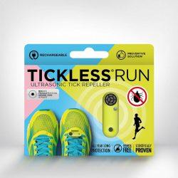 Tickless RUN Neonsárga hordozható kullancsriasztó készülék futók számára
