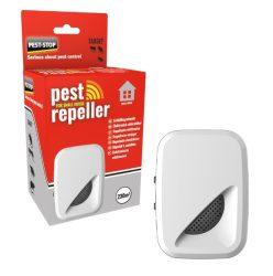 Pest-Stop Ultrahangos és elektromagnetikus kártevő- és rágcsálóriasztó készülék 232m2.