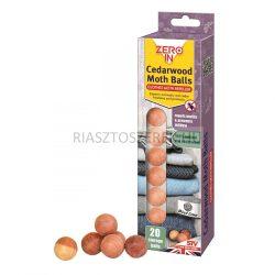 Zero In cédrusfa molyriasztó golyók 20db/csomag