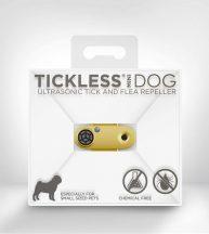 Tickless MINI Dog Gold tölthető ultrahangos kullancs és bolhariasztó kutyák számára
