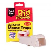 The Big Cheese Élvefogó egércsapda csalival 2db/cs.