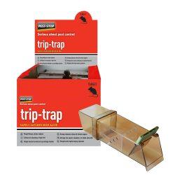Pest-Stop trip-trap élvefogó átlátszó egércsapda