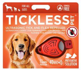 Tickless PET Orange ultrahangos kullancs és bolhariasztó kutyák és macskák számára