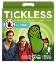 Tickless HUMAN Green hordozható kullancsriasztó készülék emberek számára