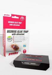 Panko ágyipoloska csapda csalogató attraktánssal 5db/cs.