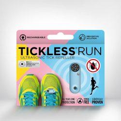 Tickless RUN Világoskék hordozható kullancsriasztó készülék futók számára