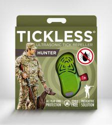 Tickless HUNTER Green hordozható kullancsriasztó készülék emberek számára