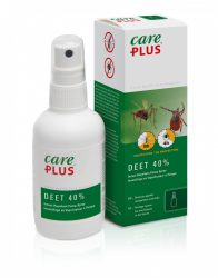 Care PLUS szúnyog és kullancsriasztó spray 40% DEET 100ml