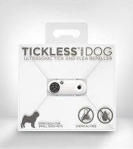 Tickless MINI Dog White tölthető ultrahangos kullancs és bolhariasztó kutyák számára