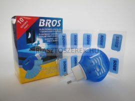 Bros elektromos szúnyogriasztó készülék + 10 szúnyogirtó lapka