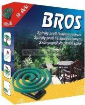 Bros szúnyogirtó spirál 10db/csomag