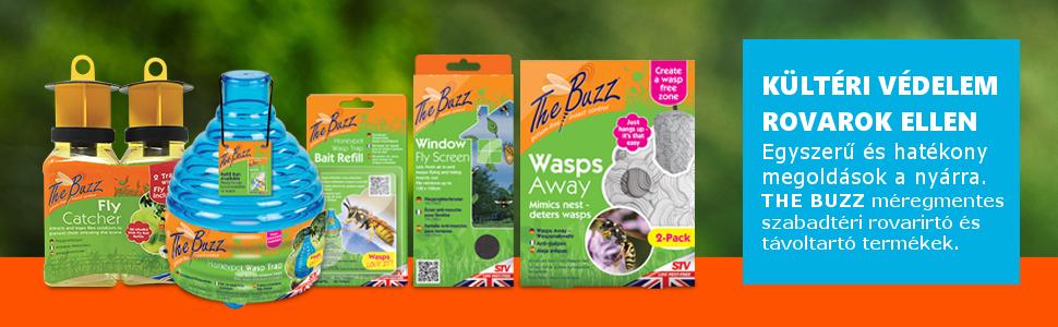 the buzz rovarriasztó termékek